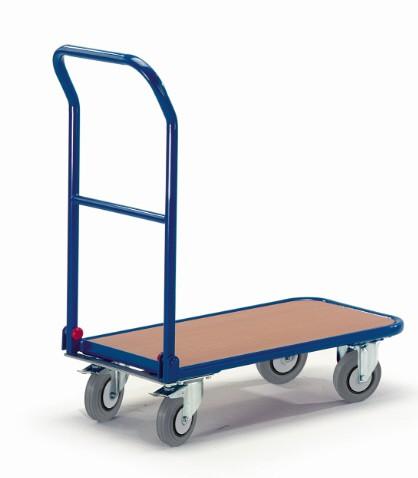 ROLLCART Schiebebügelwagen mit Klappbügel