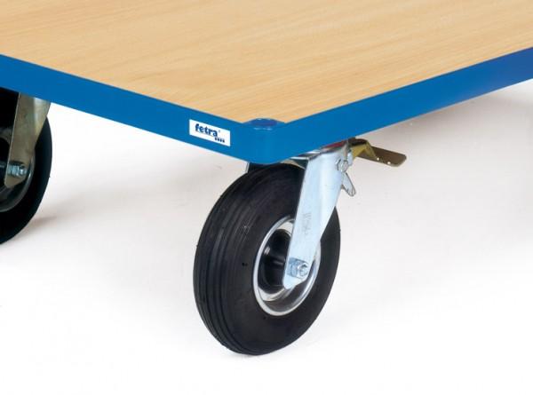 Fetra Räder mit Luftbereifung, Tragkraft 400 kg