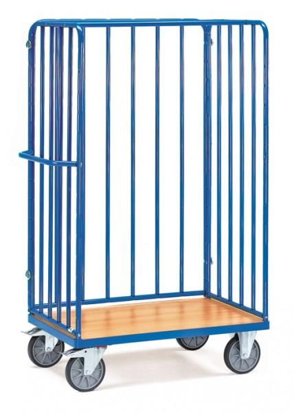 Fetra Hoher Paketwagen mit Wänden mit Rohrstreben, 600 kg